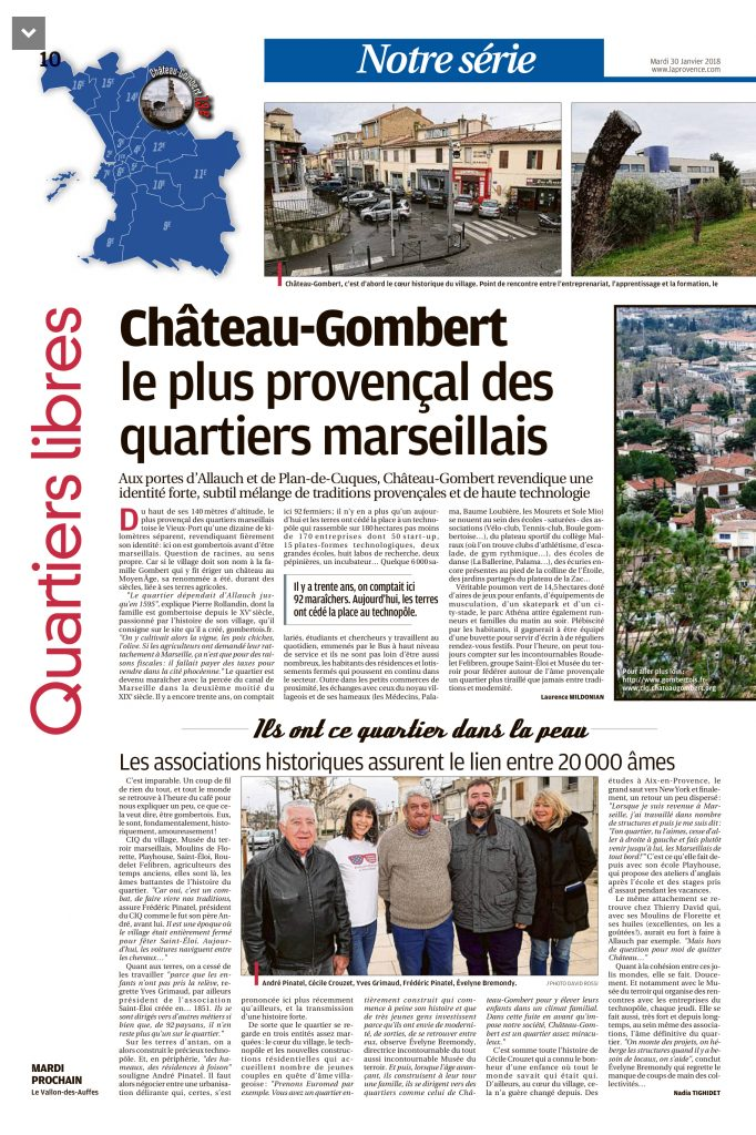 Article La Provence partie 1