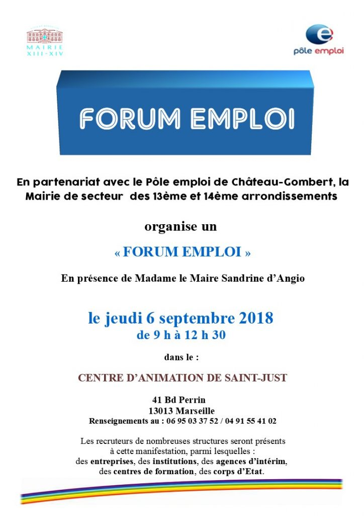 Flyer Forum Emploi