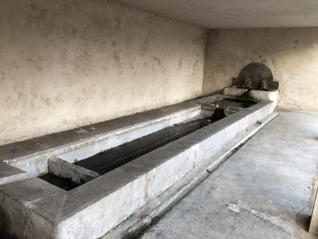 Intervention de la bip u2013 ancien lavoir de château gombert